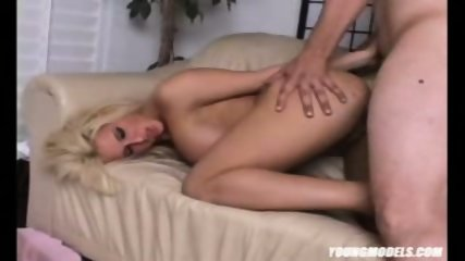 Big tits MiLF ass licked and punded on the couch - scene 3