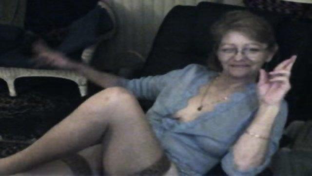 Masterbating granny porn