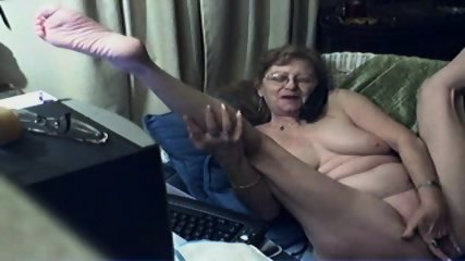 Innocent Grandma On Webcam - scene 11