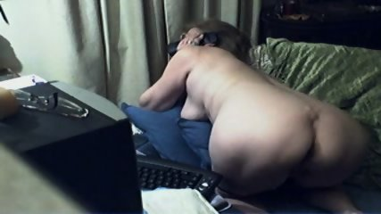 Innocent Grandma On Webcam - scene 6