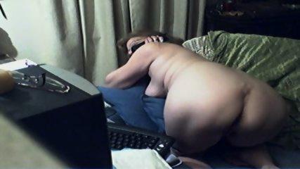 Innocent Grandma On Webcam - scene 7