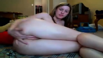Young Babe Fucking Her Dildo Cam