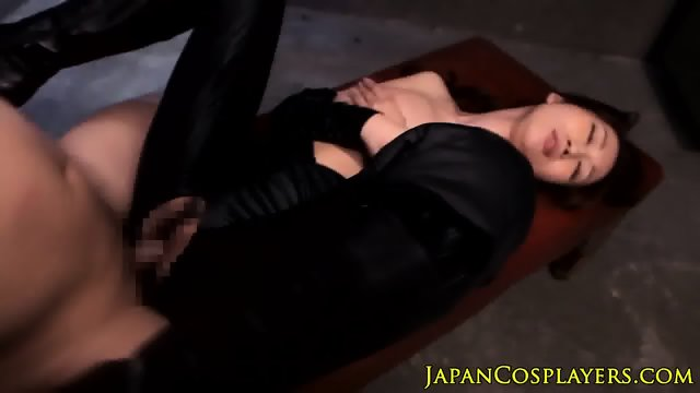 Bigtitted japanese milf pussyfucked - scene 9