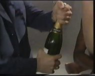 Extreme - Champagne filled in her Pussy - scene 1