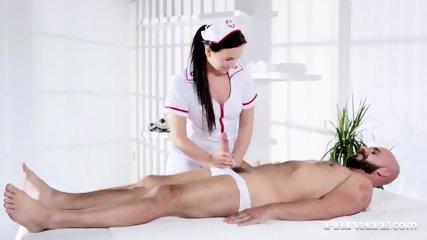 Naughty Natalee Nurses A Hard Cock - scene 4