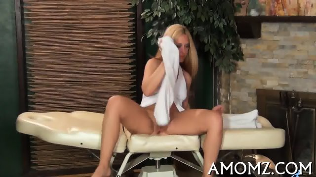 Smoking hot mature in action - scene 3