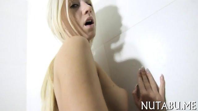 Solo teen fingers her pussy - scene 3