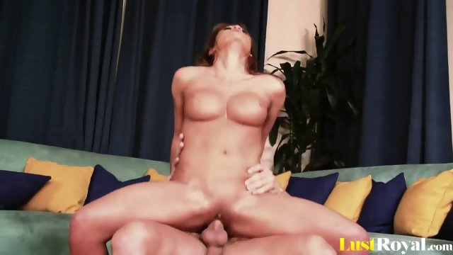 Brunette cutie Mia Lelani loves choking on members - scene 9