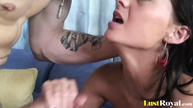 Horny lad gets to taste adorable Jessica Valentino - scene 9