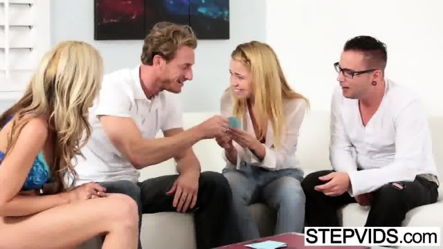 Stepsister Alina West gets nailed - scene 1
