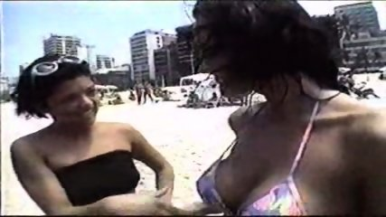 Brazil Girls get Anal Lesson - scene 1