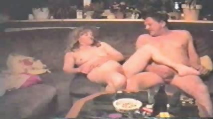 Old vouple fucking on the sofa - scene 7
