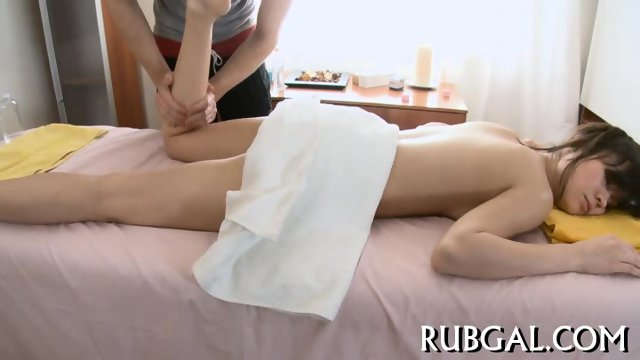 Unforgettable sex during massage