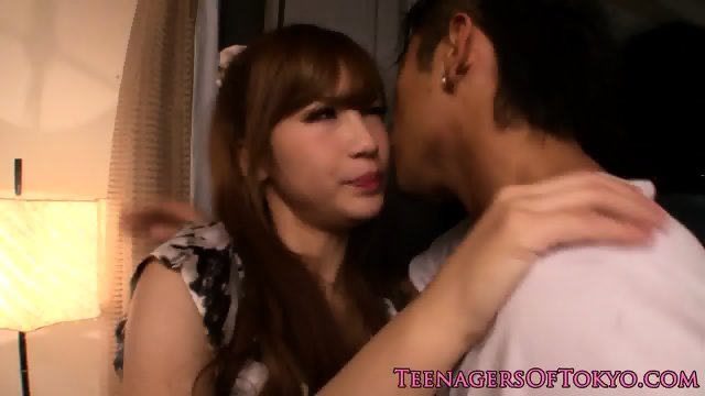 Japanese teen pounded and facialized