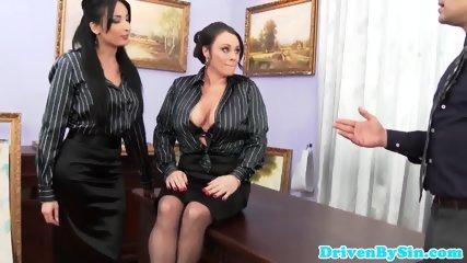 European Assfucking Threeway With Anissa Kate - scene 1