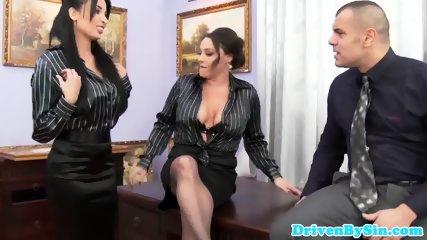 European Assfucking Threeway With Anissa Kate - scene 2