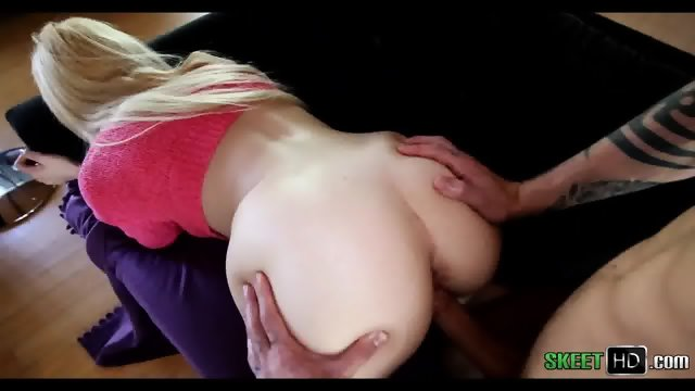 Blonde With Giant Ass Viciously Pounded Victoria Paradice