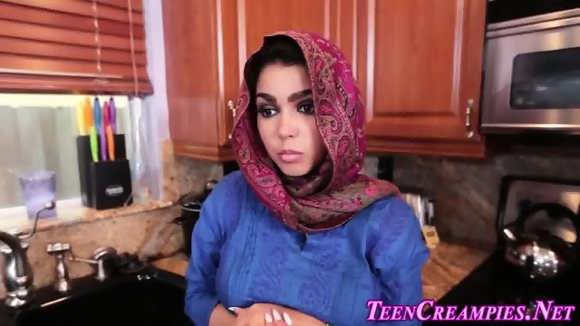 Ethnic teen ho creampied