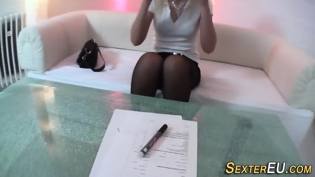 German milf rides cock - scene 1