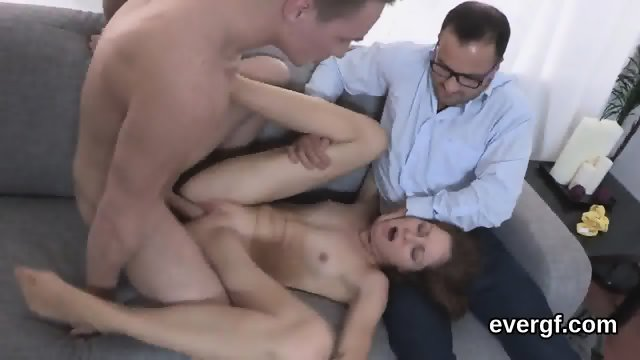 Indebted fella allows unusual friend to poke his exgf for dollars - scene 10