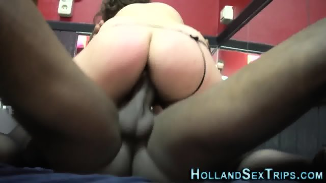 Euro hooker swallows cum - scene 9