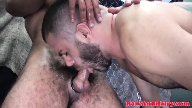 Strong bears dicksucking and dildo analplay - scene 7
