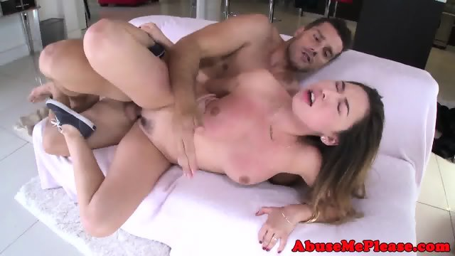 Cockhungry slut throating cock intensely - scene 9