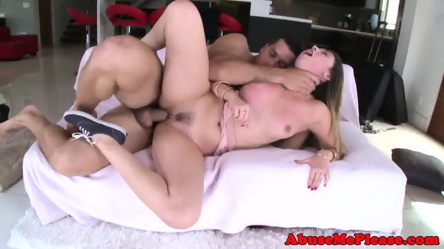 Cockhungry slut throating cock intensely - scene 10
