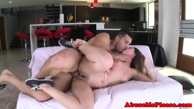 Cockhungry slut throating cock intensely - scene 11