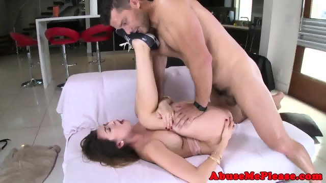 Cockhungry slut throating cock intensely - scene 6