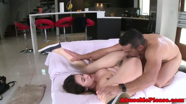 Cockhungry slut throating cock intensely - scene 7