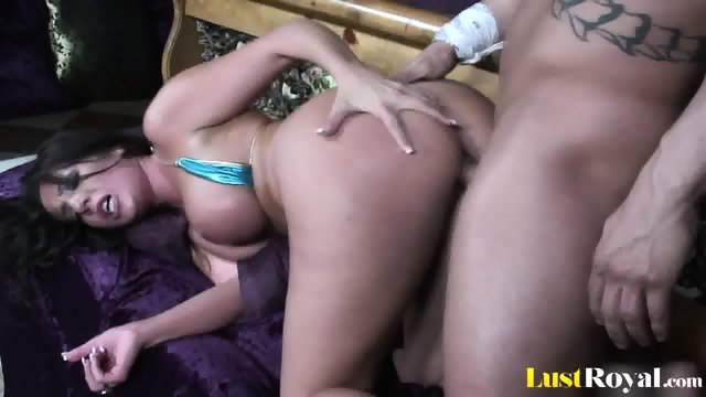 Seductive stripping and shagging by gorgeous Richelkle Ryan - scene 6