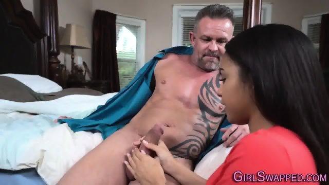 Teen gets stepdads cum - scene 2
