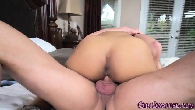 Teen gets stepdads cum - scene 6