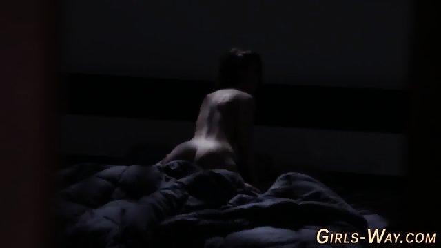 Tiny tits gorgeous lesbos - scene 5