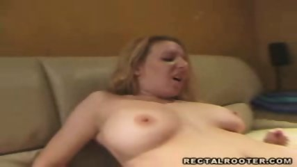 Horny babe gets extremely fucked in the ass - scene 5