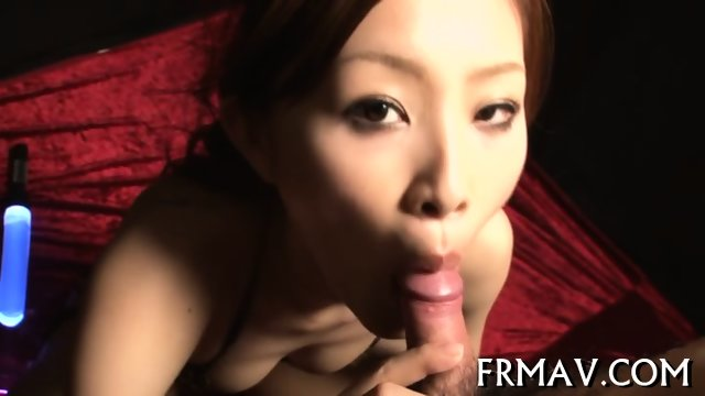 Flithy hot Japanese fellatio