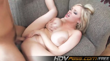 Blonde Babe Katie Kox Fucks With Huge Dancing Boobs - scene 8