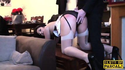 British Sub Slut Dominated With Dick - scene 1