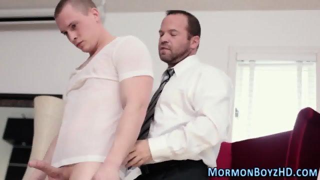 Mormon elders ass spanked - scene 3