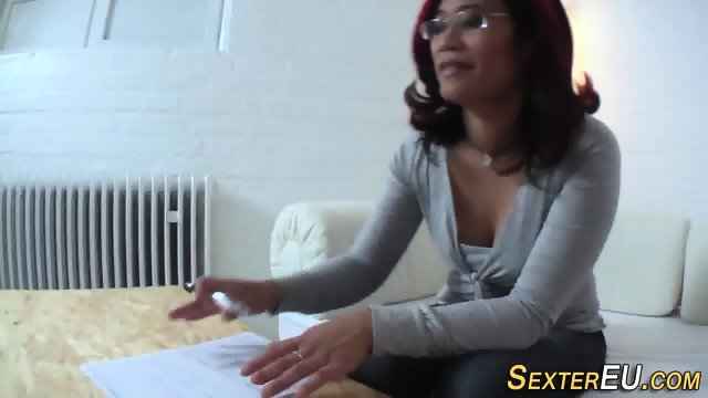 Jizz mouthed german pees - scene 2