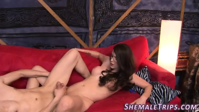 Shemale gets cock ridden - scene 5