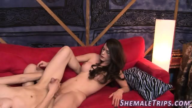 Shemale gets cock ridden - scene 6