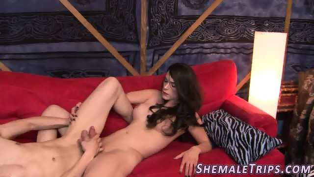 Shemale gets cock ridden - scene 7