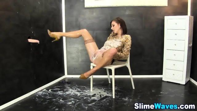 Fetish european slimed - scene 9