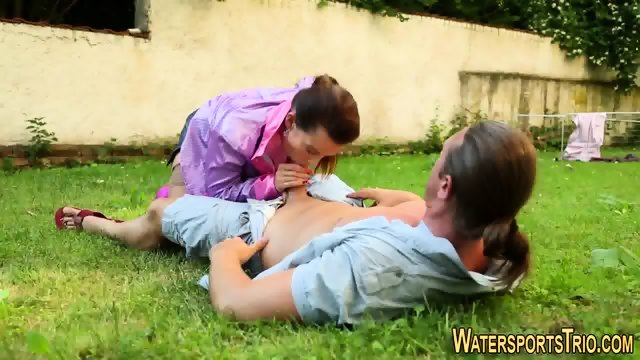 Whore gets goldenshower - scene 5