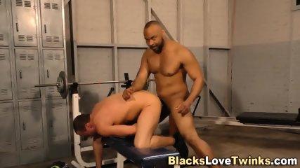 White Stud Rims Black Ass