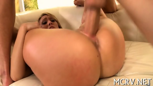 Long-awaited sex makes babe cum - scene 10