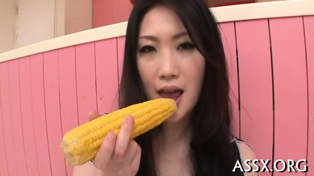 Erotic Asian pussy shaving and anal sex - scene 12