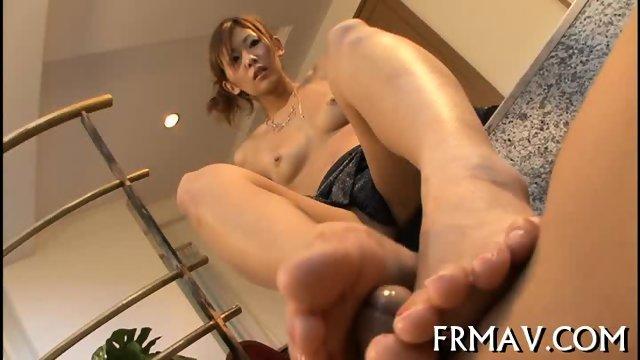 Hot fellatio from skinny Japanese - scene 11